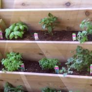 Diy Build Vertical Herb Planter Home Garden
