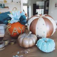 Diy Carve Pumpkin Decorating Kayu