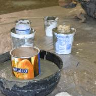Diy Cement Vases Candle Holders Burgh Brides