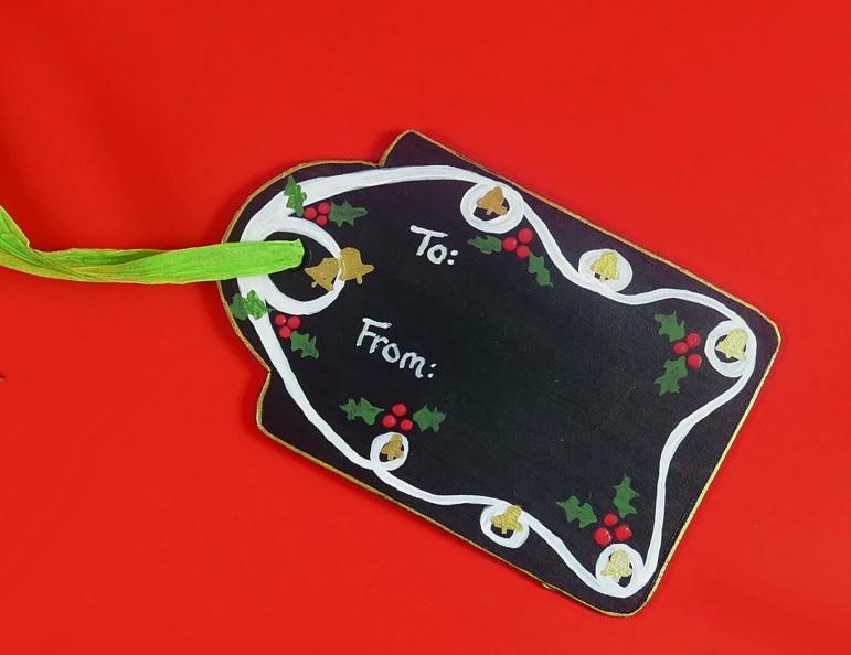 Diy Chalkboard Gift Reuse Every Christmas