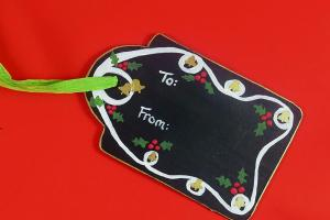 Diy Chalkboard Gift Reuse Every Christmas