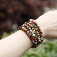 Diy Chan Luu Style Bohemian Wrap Bracelet 2015 Eureka