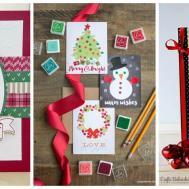 Diy Christmas Card Ideas Easy Homemade