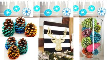 Diy Christmas Decoration Holiday Room Decor