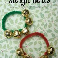 Diy Christmas Sleigh Bells Laughing Kids Learn