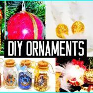 Diy Christmas Tree Ornaments Harry Potter Inspired