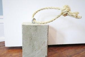 Diy Concrete Door Stop Hometalk