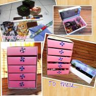Diy Cosmetic Organizer Jewelry Box Using Bdj Boxes