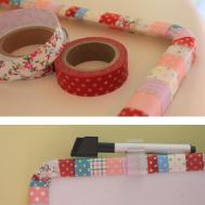 Diy Craft Project Making Funky Patchwork Frame