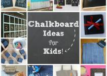 Diy Creative Chalkboard Ideas Leave