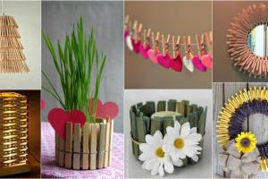 Diy Creative Clothespin Crafts Impress