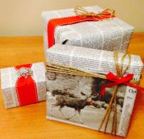 Diy Creative Holiday Gift Wrap Moda Magazine