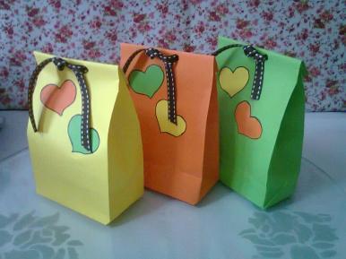 Diy Cute Paper Bags Gift Doovi