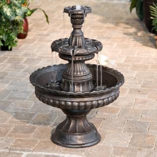 Diy Design Outdoor Fountains Ideas