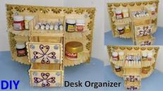 Diy Desk Organizer Ice Cream Stick Make