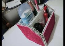 Diy Desk Organizer Tutorial Imgkid
