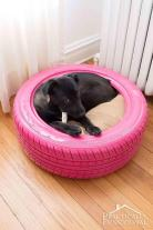 Diy Dog Bed Recycled Tire
