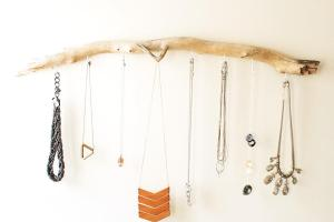 Diy Driftwood Jewelry Hanger Kept Blog