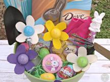Diy Easter Basket Gardener Candy Filled