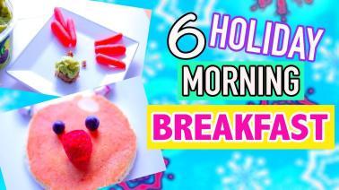 Diy Easy Cute Holiday Treats Morning Breakfast Ideas