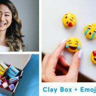 Diy Emoji Magnets Clay Box Launch