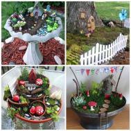 Diy Fairy Garden Ideas Imgkid Kid