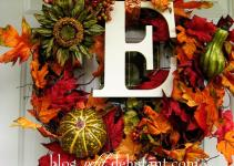 Diy Fall Wreaths Ideas Classy Clutter