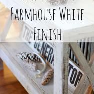 Diy Farmhouse Distressed White Picket