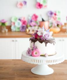Diy Floral Mother Day Cake Blog App Tit