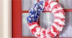 Diy Fourth July Wreath Chic Popsugar Moms