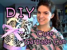 Diy Garbage Can Makeover