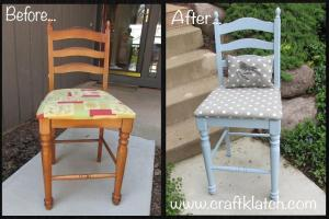 Diy Garbage Gorgeous Episode Chair Makeover Recycling