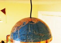 Diy Globe Pendant Light Quick Easy Lighting Upgrade