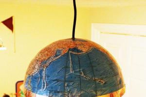 Diy Globe Pendant Light Quick Easy Lighting Upgrade