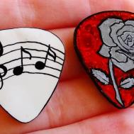 Diy Guitar Picks Tutorial Customisable