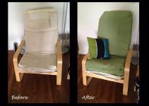 Diy Hack Poang Chair Cover Needle Thread Magic