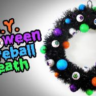 Diy Halloween Eyeball Wreath Easy Decoration