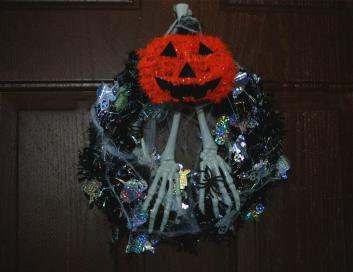 Diy Halloween Wreath Dollar Tree Craft Sundaes Flip