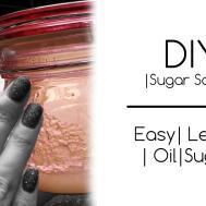 Diy Hand Scrub Sugar Natural
