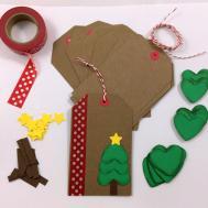 Diy Holiday Christmas Gift Tag Kit Makes Bumpofknowledge