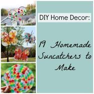 Diy Home Decor Homemade Suncatchers Make Favecrafts