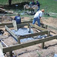 Diy Hot Tub Deck Backyard Design Ideas