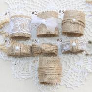 Diy Ideas Burlap Wedding Napkin Holder Designs