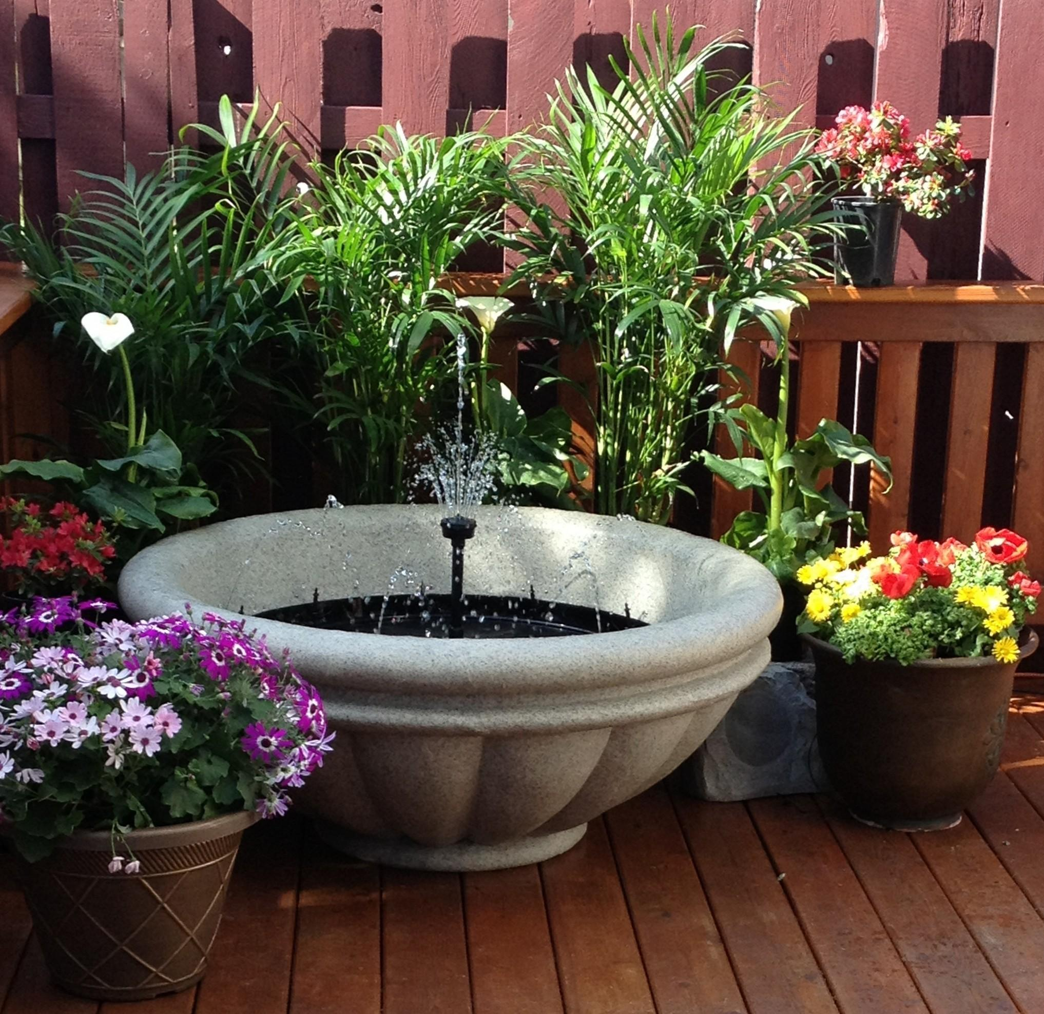27 Fantastic Small Diy Patio Fountain That You Would Love To See Stunning Photos Decoratorist