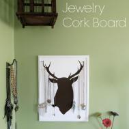 Diy Jewelry Cork Board Ellerow