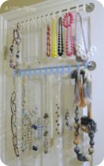 Diy Jewelry Organizer Little Tipsy