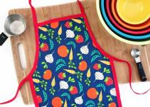 Diy Kid Cooking Apron Bugaboocity