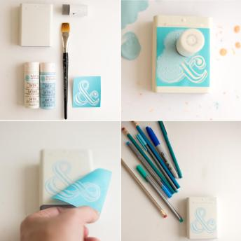 Diy Locker Decorations Dry Erase Board Pencil Cup