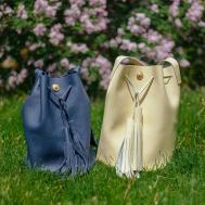Diy Made Own Leather Bucket Bag Terumah