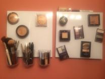 Diy Magnetic Makeup Board Musely